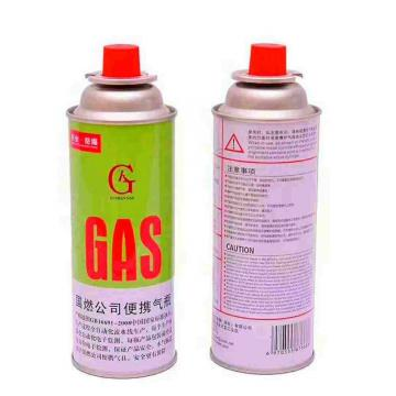 Factory direct provide gas cylinder small disposable helium butane butane gas 300ml