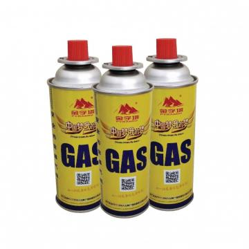 Customers Requirement Butane Fuel Gas Canisters for portable camping stoves