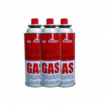 400ml 227g portable camping empty butane gas bottle and 220g butane gas cartridge wholesale