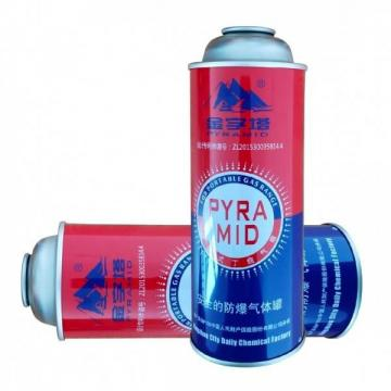Butane Gas Aerosol Spray Fuel Energy Empty Tinplate Safety Powerful Butane Gas Canister