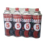 227g Round Shape Portable Aerosol Use Aerosol Can Tin Can for Butane Gas Cartridge