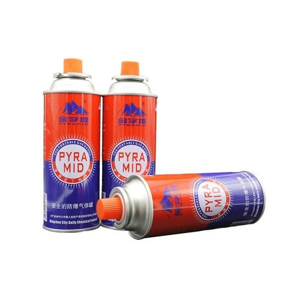 300ml / 250ml / 220ml Better quality Camping Portable Butane Gas Cylinder Camping Gas #1 image