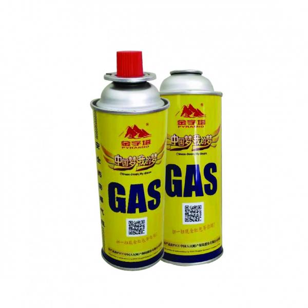 BBQ lighter gas portable butane gas cartridge for camping #1 image