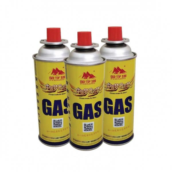 MSDS ISO Butane Gas Aerosol Spray Tin Plate Can for Sale #3 image
