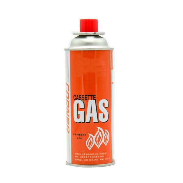 empty 220gr butane gas cartridge and camping gas butane canister refill for portable camping stoves #1 image