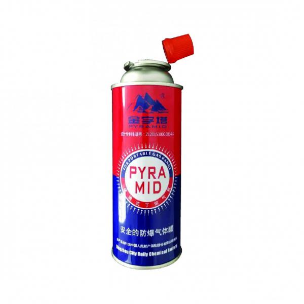Portable butane gas cartridge and butane gas canister for camp stove #2 image
